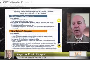 SEP2020 – Keynote Speaker – David Kappos – Nov 10, 2020