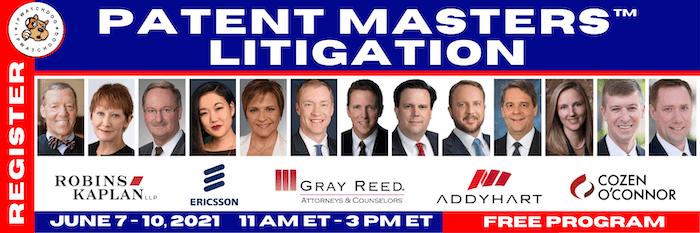 Patent Masters Litigation 2021
