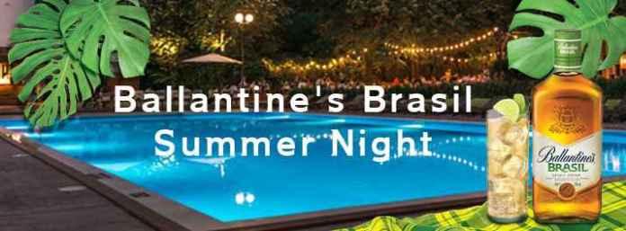 Ballantine's Brasil Summer Night
