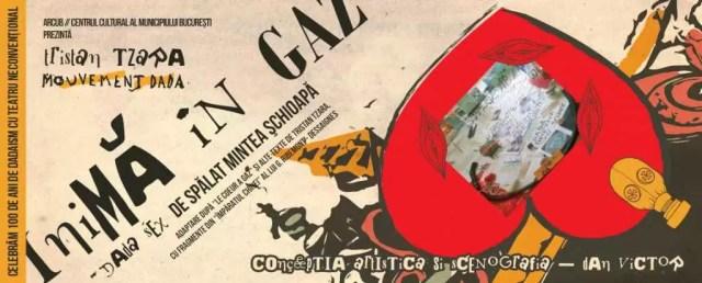 Inima în Gaz - Dada sex de spălat mintea schioapă - Banner