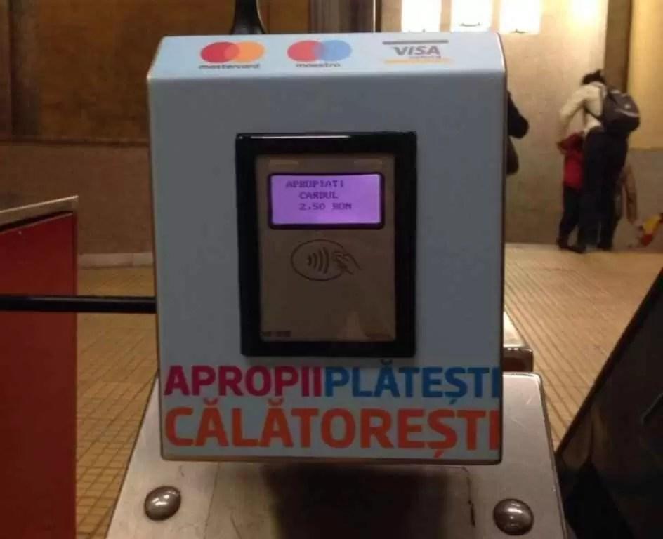 Accesul la metrou se va putea face și cu carduri contactless