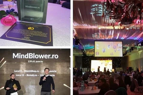 Mindblower premiat la Gala Premiilor eCommerce 2016