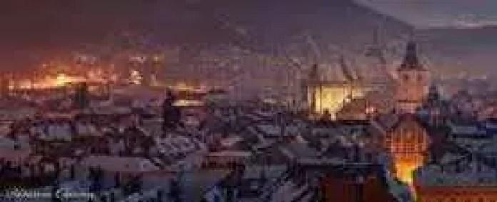 Panorama - Brasov Aro 03 Night
