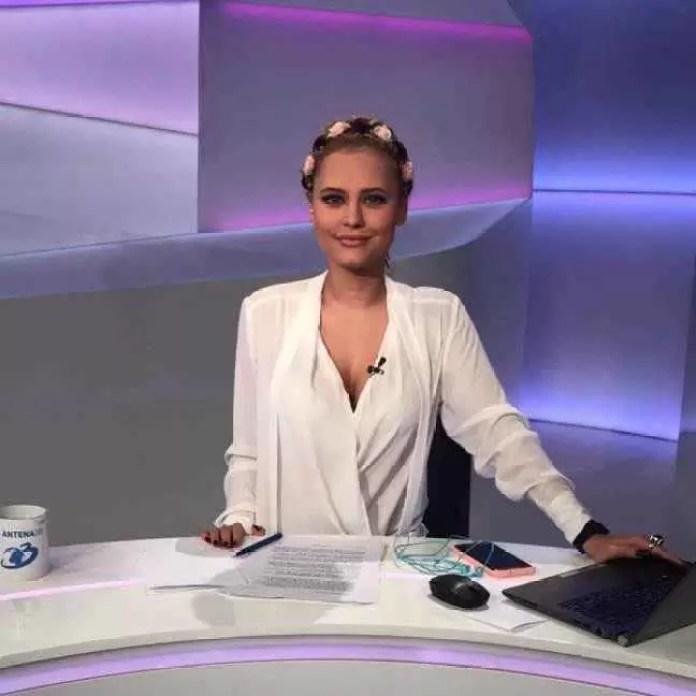"""Interviu cu Andreea Perminov: """"Există un """"miraj"""" în ceea ce privește televiziunea."""""""