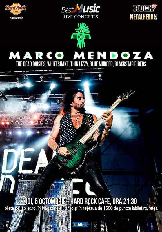 Legendarul Marco Mendoza