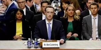 Reacția lui Mark Zuckenberg din audieri
