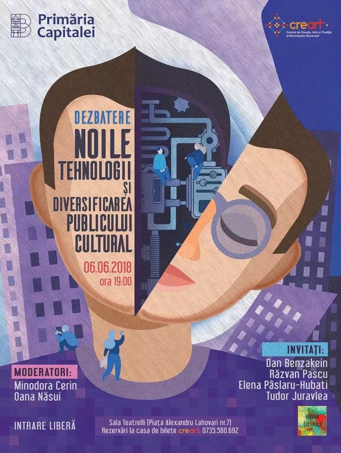 """Dezbatere pe tema """"Noile tehnologii și diversificarea publicului cultural"""""""