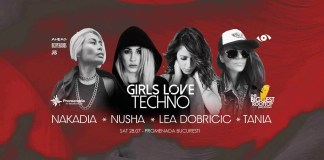 The Biggest Rooftop Party In Town prezintă Girls Love Techno