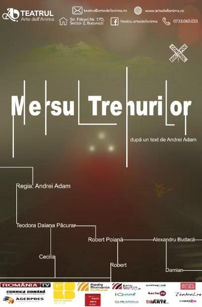 """""""Mersul Trenurilor"""" la Teatrul Arte dell'Anima"""
