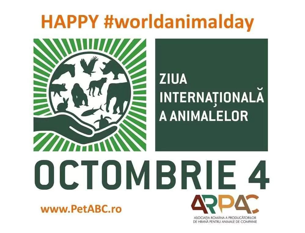 Ziua Internaţională a Animalelor - o sărbătoare globală la care participă şi România