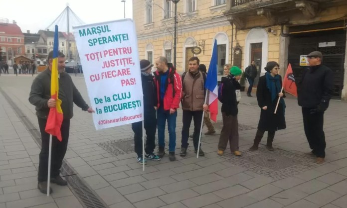 Protest împotriva ordonanței vizual