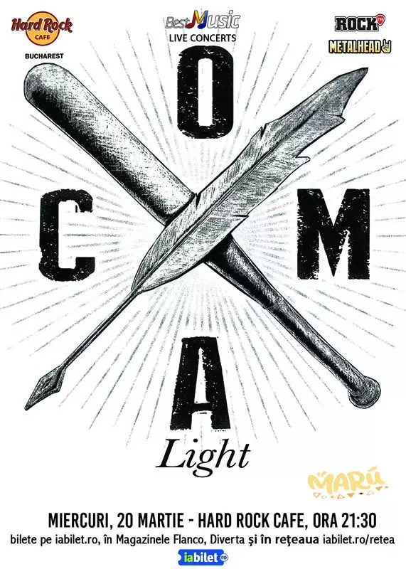 Concert Coma poster
