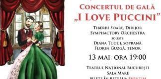 """""""I love PUCCINI"""" afis"""