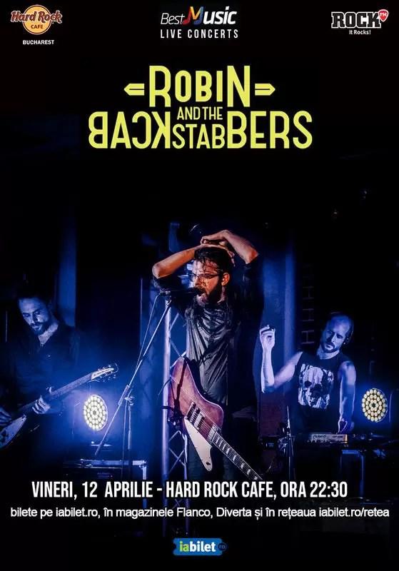 Robin And The Backstabbers concert aprilie 2019