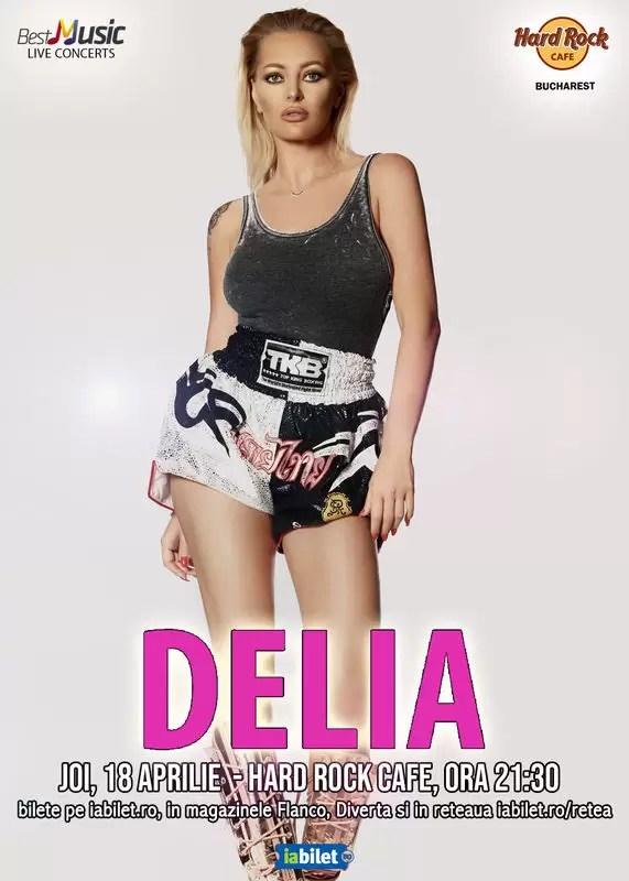 Concert Delia Hard Rock Cafe