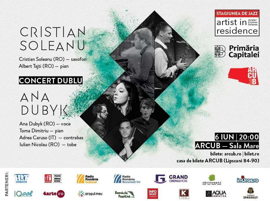 Improvizație, dinamism și creativitate în penultimul concert de jazz din stagiunea ARTIST IN RESIDENCE   ARCUB