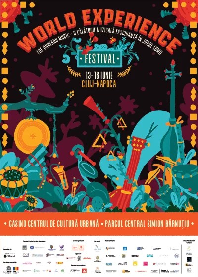 Festivalul World Experience afiș