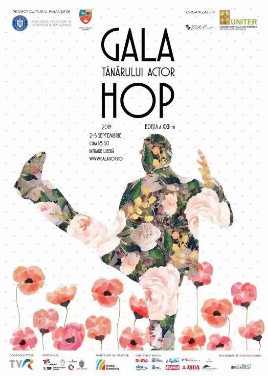 Gala Tânărului Actor Hop afis