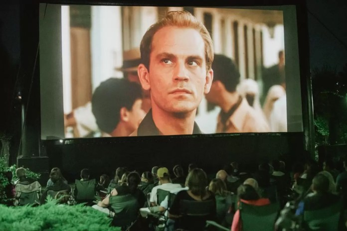 Cinema în aer liber-afis