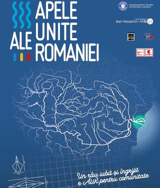 Apele Unite ale României afis