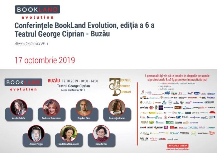 Conferințele BookLand Evolution Buzau