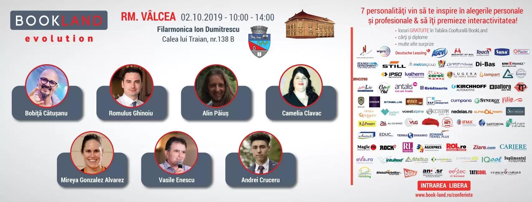 Conferinţele dedicate dezvoltării personale prin lectură au revenit la Râmnicu Vâlcea