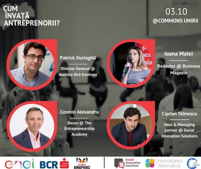 Social Impact Award România-afiș