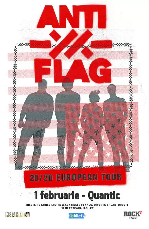 ANTI-FLAG Concert Quantic Club