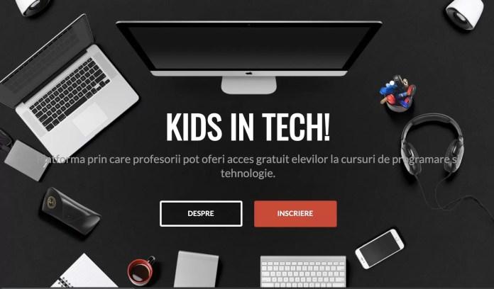 cursuri gratuite online de programare pentru copii afis