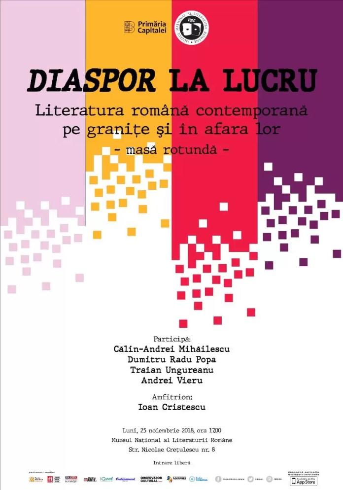 Muzeul Național al Literaturii Române afiș