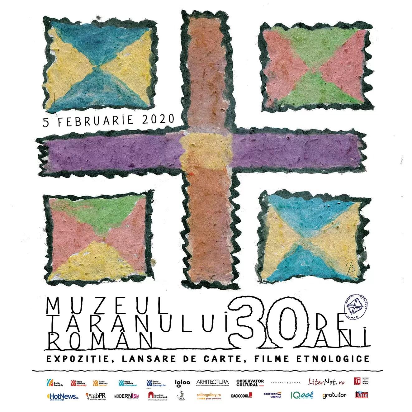 afis Muzeul Național al Țăranului Român