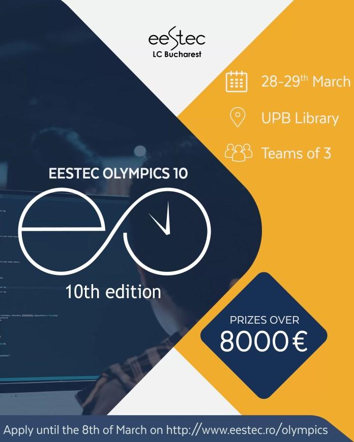 EESTEC Olympics 10 afis