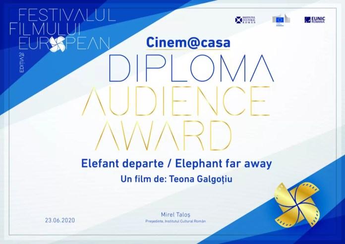 afis Ediția a 24-a Festivalului Filmului European