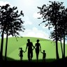 silhouette-family-walking-countryside_1048-2555