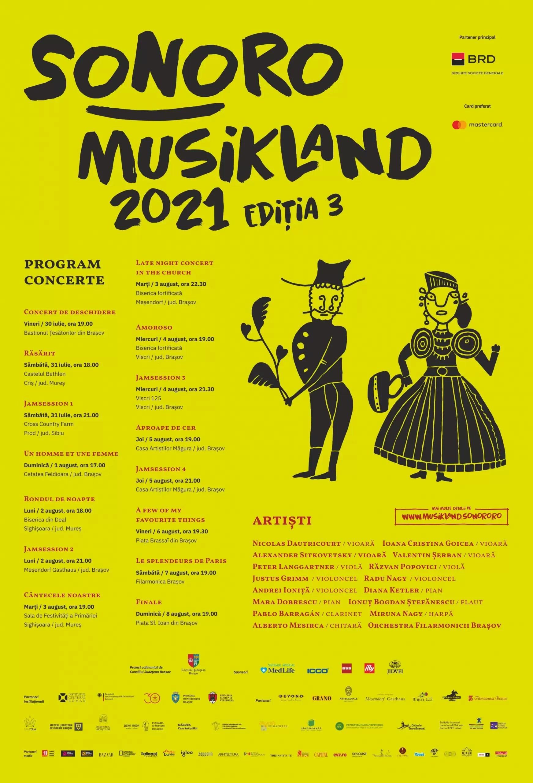 Eveniment de muzică în Brașov