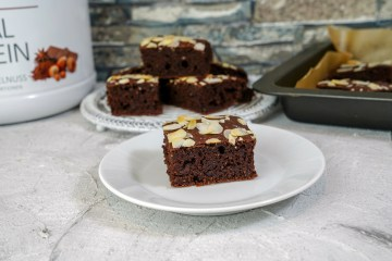 High Calorie Double Chocolate Brownies | Hardgainer Brownies
