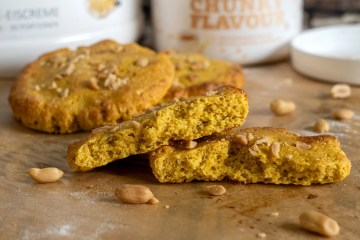 Pumpkin Peanut Cookie