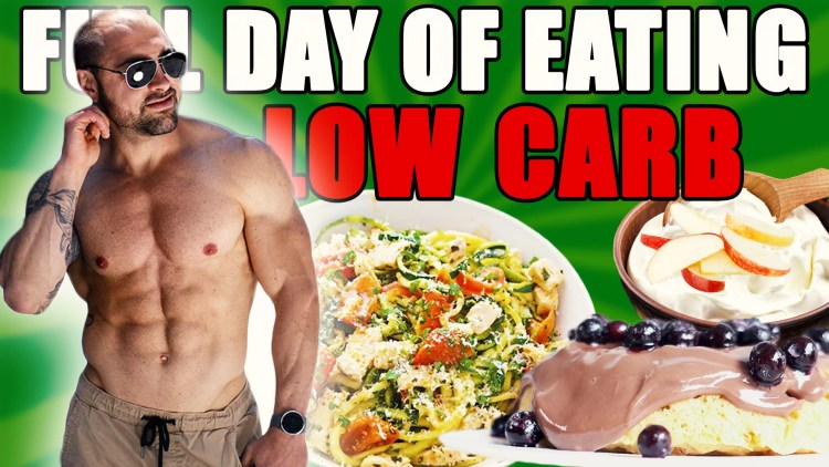 Low Carb Full Day of Eating
