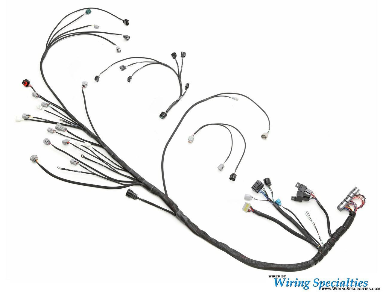 Wiring Specialties 1jzgte Silvia S14 Wiring Harness