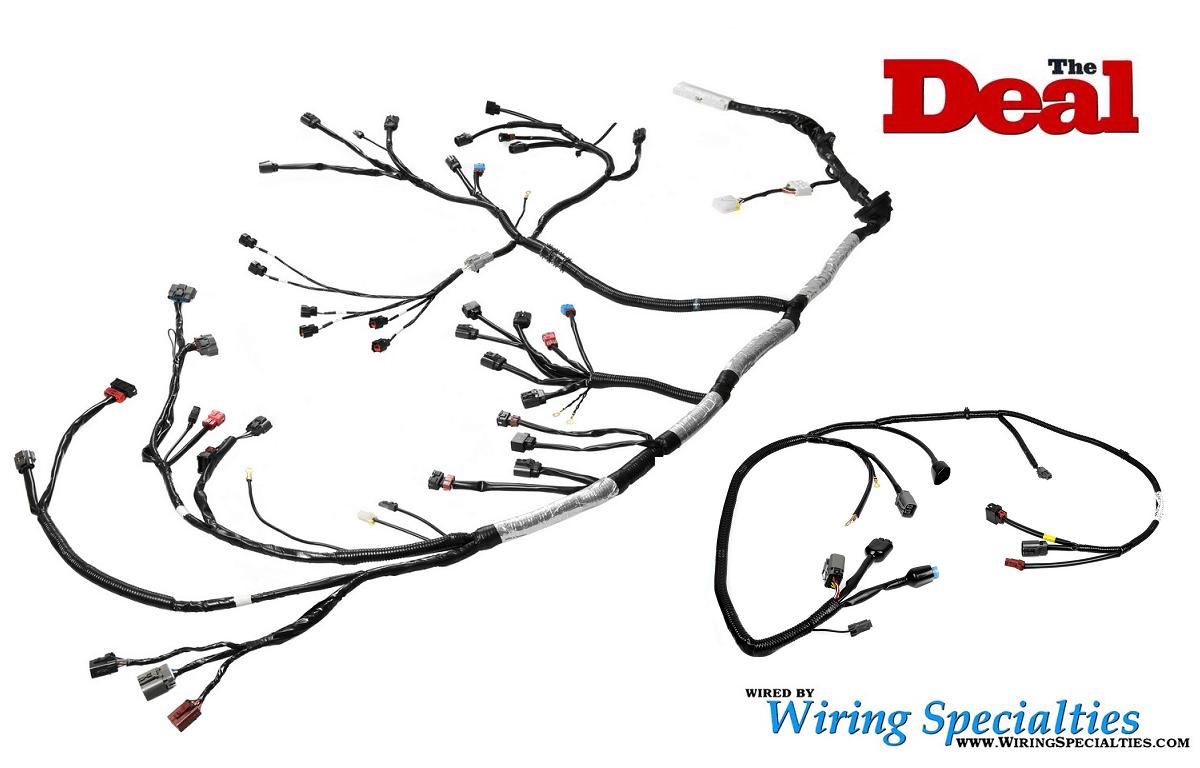 Wiring Specialties Vg30de Tt Wiring Harness Combo Irace