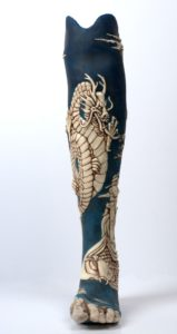 Oriental leg photographed by Annie Walters
