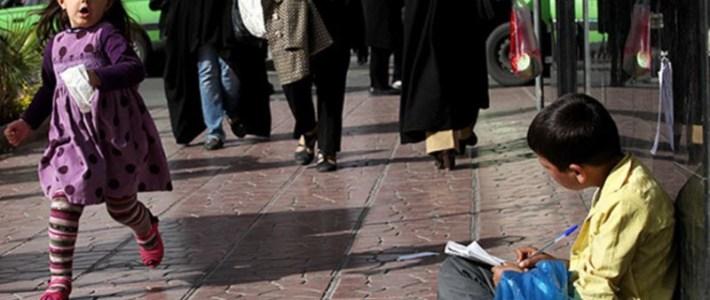 Barnarbete i Iran på uppgången