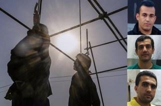 Iranska regimen avrättar tre kurdiska politiska fångar