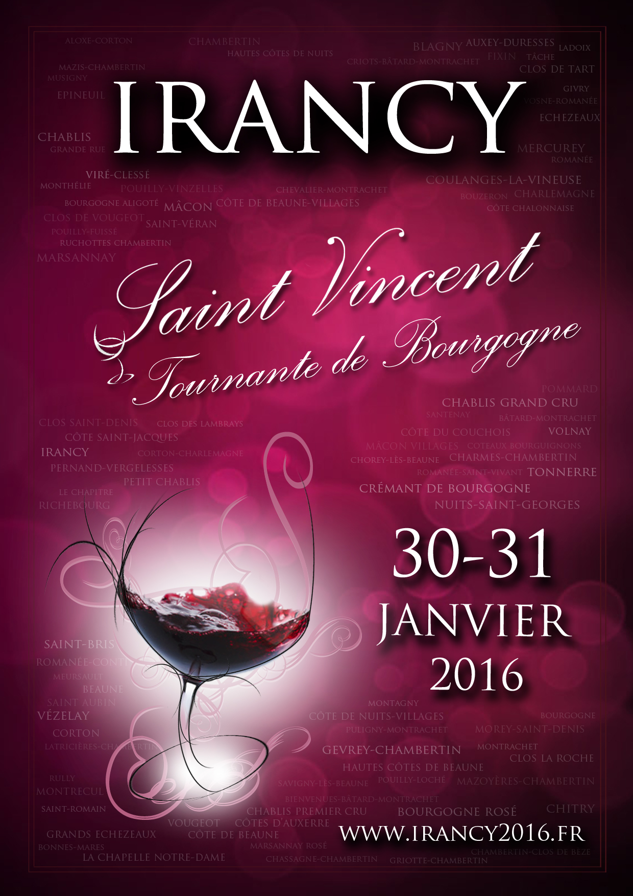[:fr]Affiche Saint-Vincent Irancy[:en]The official poster[:]