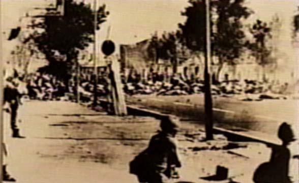 Jaleh square trumped up massacre (Sep. 1978)