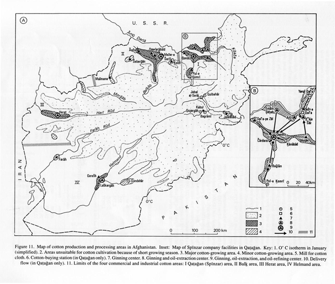Cotton Iii In Afghanistan Encyclopaedia Iranica