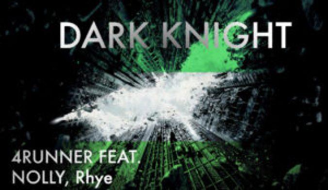 New dark knight cover