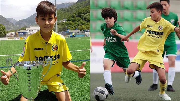 برشلونة يوقع عقد مع الموهبة الصغيرة بريان فارينياس