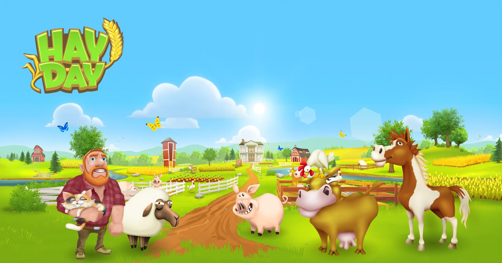 لعبة هاي داي تنزيل سريع – Hay Day