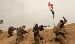 الحشد الشعبي يصدون هجوما لداعش غرب العوجة